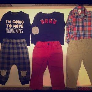 18 Month Outfit Bundle- 12 pieces